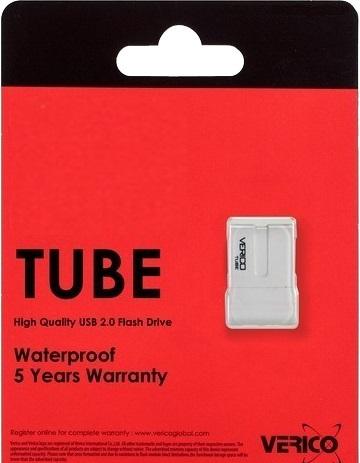 Накопитель Verico USB 16Gb Tube White