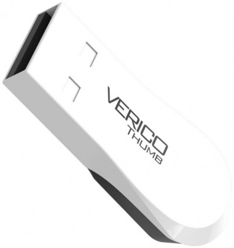 Накопитель Verico USB 8Gb Thumb White+Black