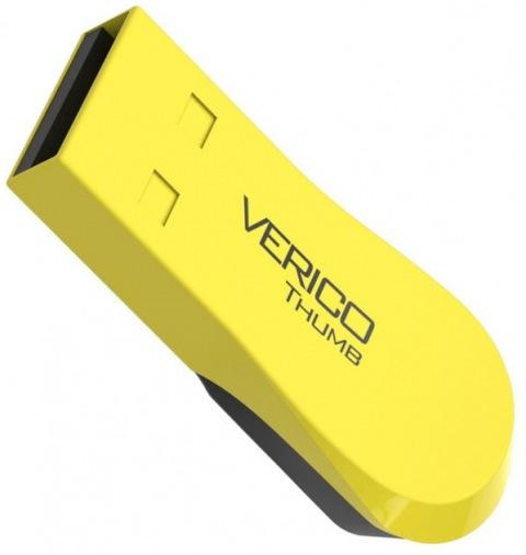 Накопитель Verico USB 16Gb Thumb Yellow+Black