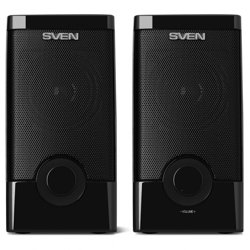 Акустическая система 2.0 SVEN 318, чорний