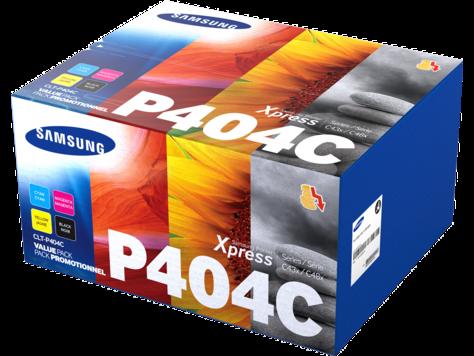 Комплект картриджей Samsung CLT-P404C (C,M,Y,K)
