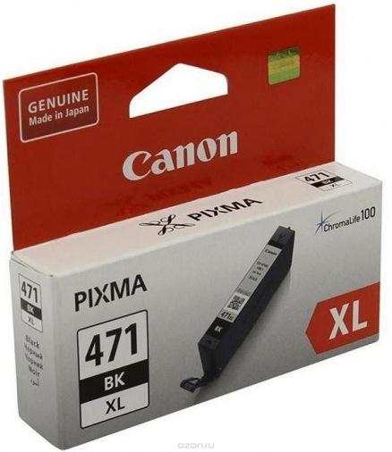 Картридж Canon CLI-471 XL Black (0346C001)