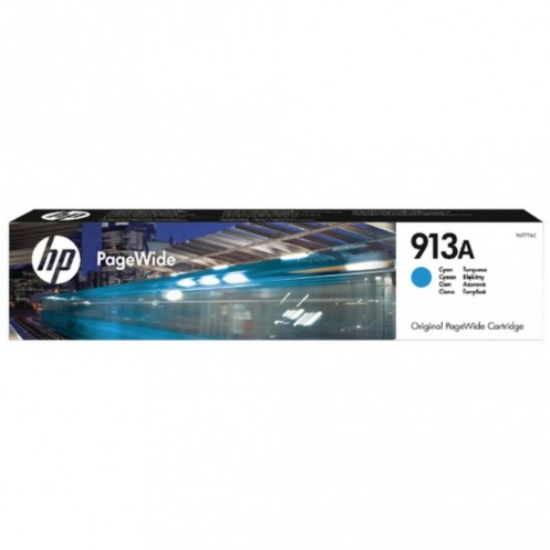 Картридж HP No.913A PageWide 352/377/452/477 Cyan 3000 стр. (F6T77AE)