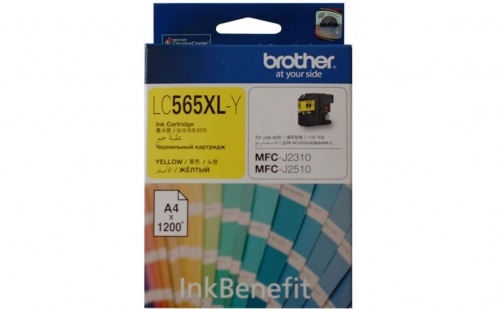 Картридж Brother MFC-J2310/J3520 XL Yellow 1 200стр. (LC565XLY)