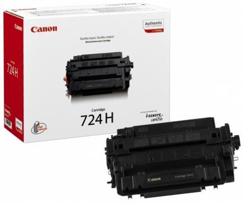 Картридж Canon 724H Black 12500стр (3482B002)