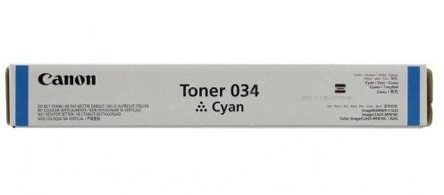 Тонер Canon 034 iRC1225 Cyan (9453B001)