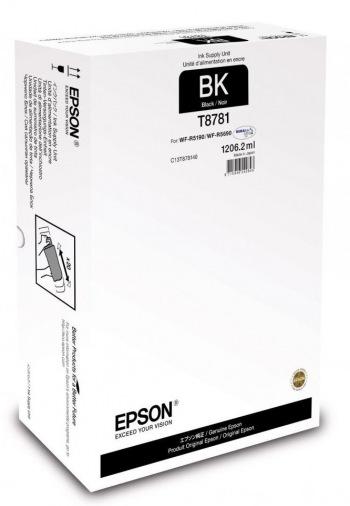 Картридж Epson WF-R5190/WF-R5690 black XXL (C13T878140)