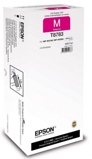 Картридж Epson WF-R5190/WF-R5690 magenta XXL (C13T878340)