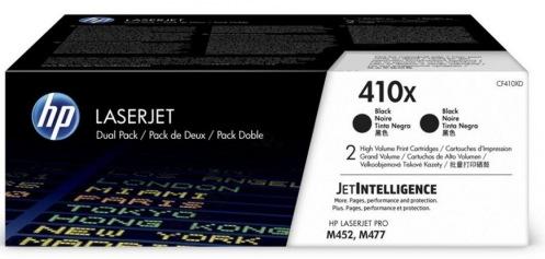 Картридж HP 410X CLJ Pro M377/M452/M477 Black 2шт. (CF410XD)