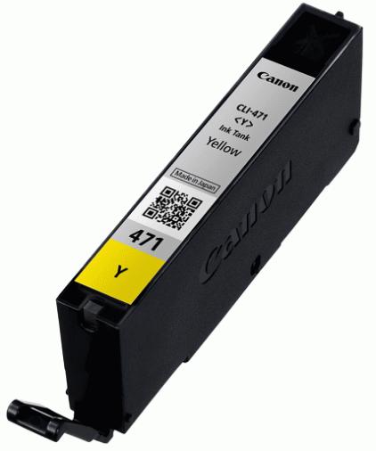 Картридж Canon CLI-471Y Yellow (2100C001)