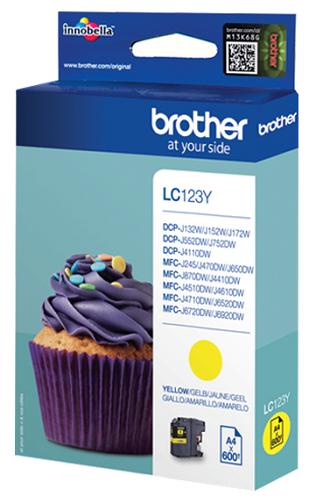 Картридж Brother MFC-J2310/J3520 Yellow 600стр. (LC563Y)