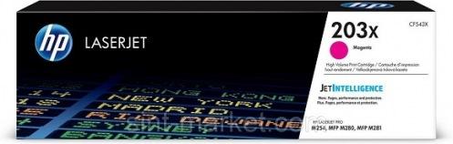 Картридж HP 203X CLJ M280/M281/M254 Magenta 2500стр. (CF543X)