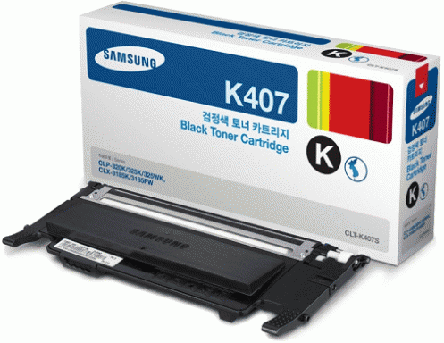 Картридж Samsung CLT-K407S/SEE Black (1500стр)