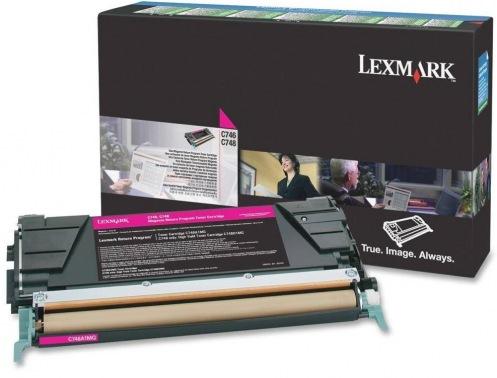 Картридж Lexmark C748 Bid Program Magenta 10k (C748H3MG)