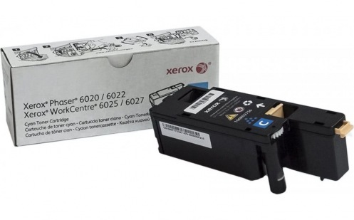 Картридж Xerox PH6020/6022/WC6025/6027 Cyan (106R02760)