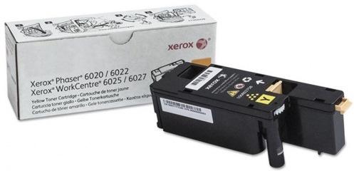 Картридж Xerox PH6020/6022/WC6025/6027 Yellow (106R02762)