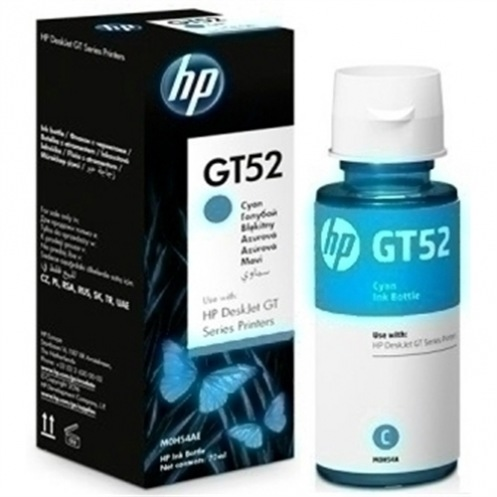 Чернила HP GT52 5810/5820 Cyan 8000 стр. (M0H54AE)