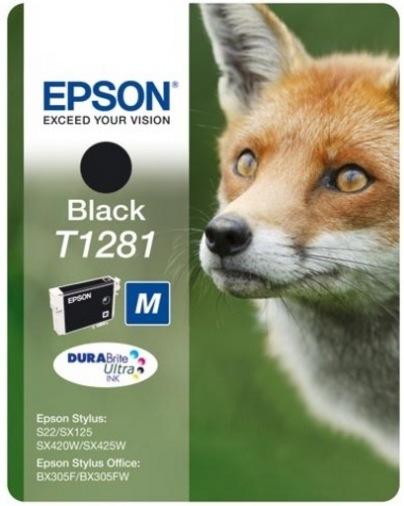 Картридж Epson St S22/SX125/SX130/SX420W/425W Black (C13T12814012)