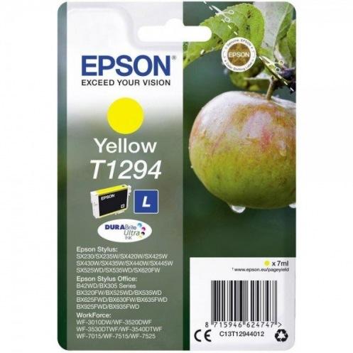 Картридж Epson St SX420W/425W Large Yellow (C13T12944012)