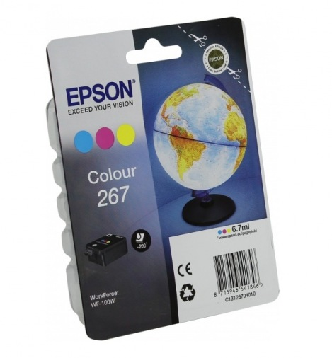 Картридж Epson WorkForce WF-100W Color (C13T26704010)