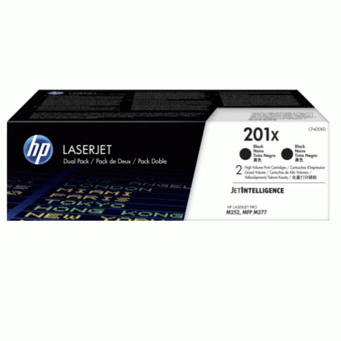 Картридж HP 201X CLJ M252/M277 Black 2шт. (CF400XD)