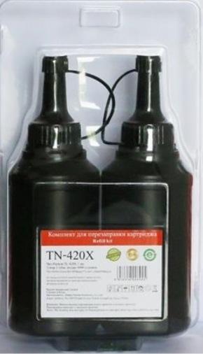 Заправочный комплект для картриджа Pantum PC-420H (2*3000стр; 2тонера + 2чипа) (TN-420X)