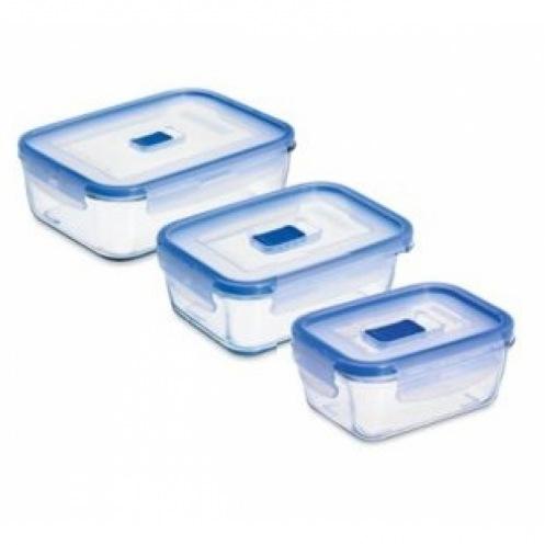 Форма для хранения LUMINARC PURE BOX ACTIVE 380,820,1220 мл N2618