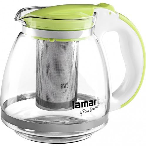 Чайник Lamart LT7028 стеклянный 1,5л