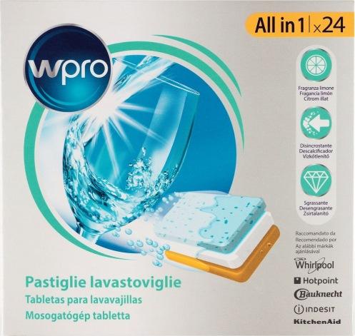 Таблетки для посудомоечной машины WPRO 24 шт