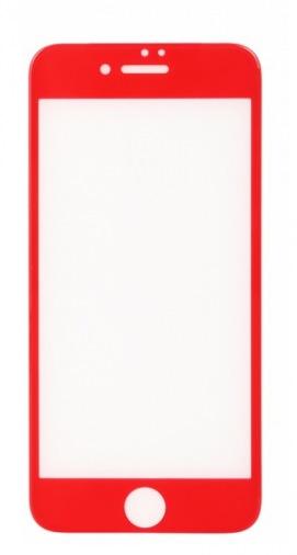 Защитная пленка-стекло BeCover iPhone 7 3D Red