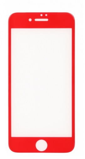 Защитная пленка-стекло BeCover iPhone 7+ 3D Red