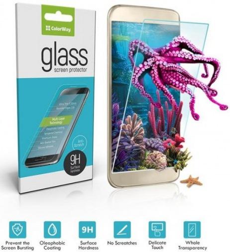 Защитная пленка-стекло ColorWay Huawei Nova 2
