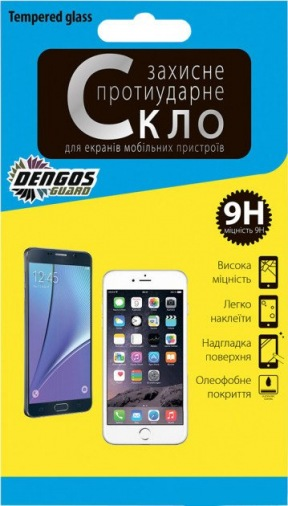 Защитная пленка-стекло Dengos TG Motorola E Plus