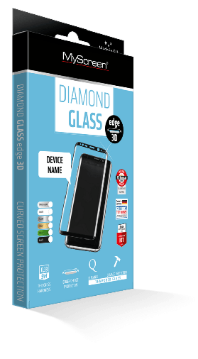 Защитное стекло MyScreen LITE Shield 3D EA Kit Samsung Galaxy S7 Edge