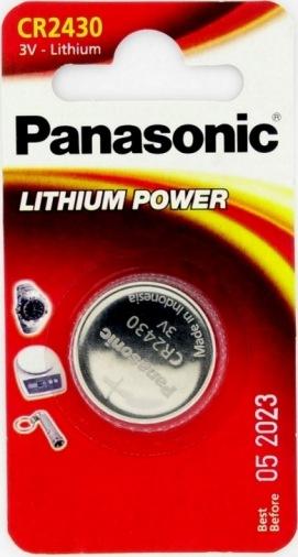Батарейка Panasonic CR2430 LITHIUM 1шт