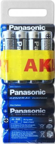 Батарейка PANASONIC General Purpose 1х (8АА + 4ААА) шт