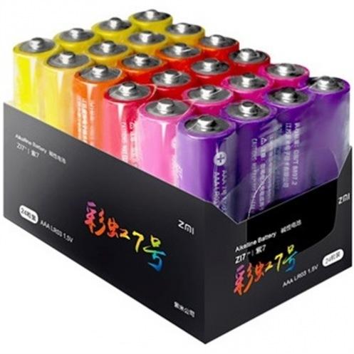 Батарейки ZMI Rainbow AAA batteries 24 шт.
