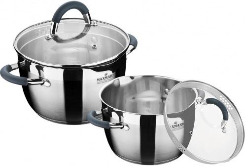 Набор посуды MAXMARK MK-VS5504В 4 пр.