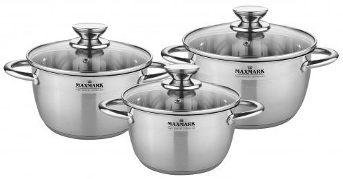 Набор посуды MAXMARK 6 пр. MK-VS8506A