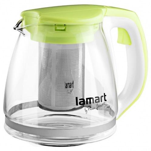Чайник Lamart LT7026 стеклянный 1,1л