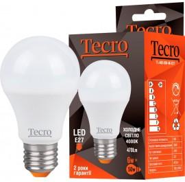 Лампа Tecro T-A60-5W-4K-E27