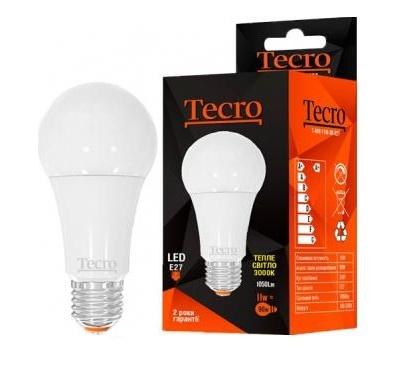 Лампа Tecro T-A60-11W-3K-E27