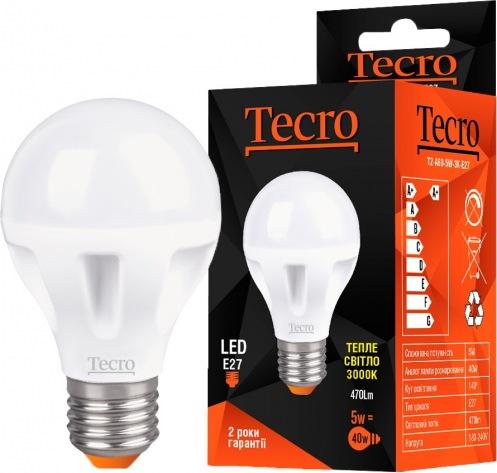 Лампа Tecro T2-A60-5W-4K-E27