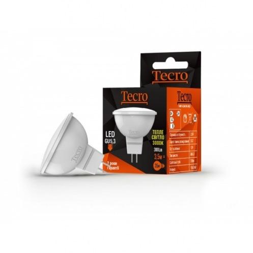 Лампа Tecro T-MR16-3,5W-3K-GU5,3