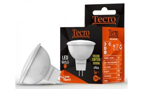 Лампа Tecro T-MR16-5W-3K-GU5,3