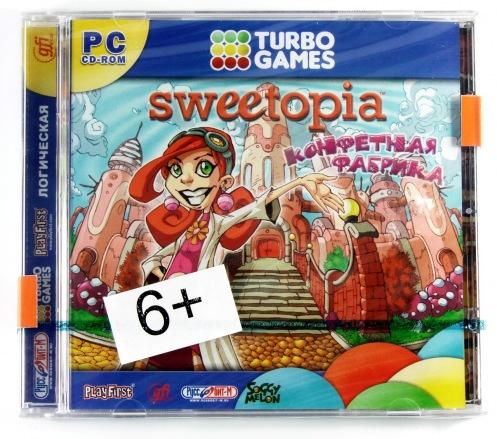 CD РС Turbo Games. Конфетная фабрика