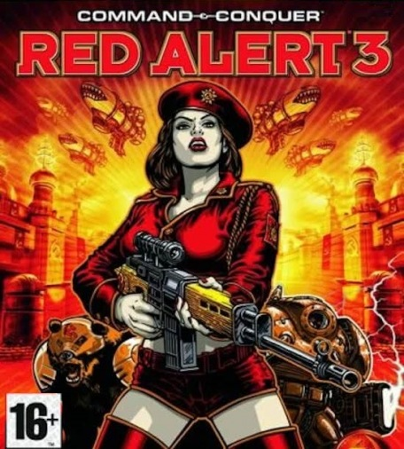 PC Comm. & Conq.Red Alert3 (рос.в) (Jewel)
