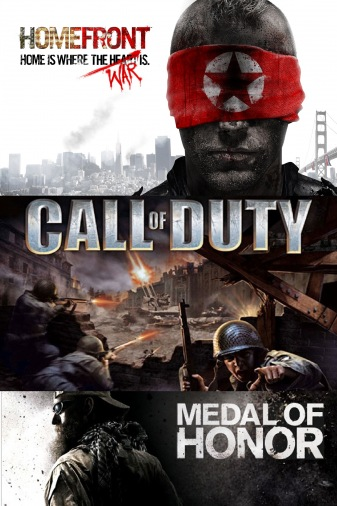 РС Сб Homefront/ Call of Duty/ Medal of Honor