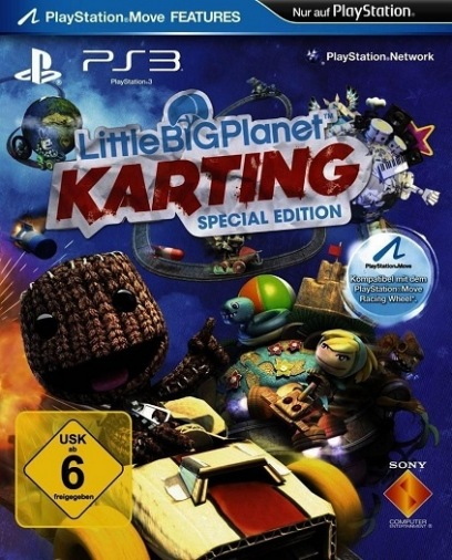 Видеоигра ps3 little big planet karting special edition