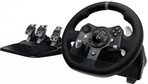 Руль Logitech G920 Driving Force PC/Xbox One Black (L941-000123)